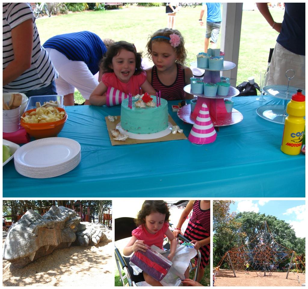 Bella's Fourth Birthday by mozette
