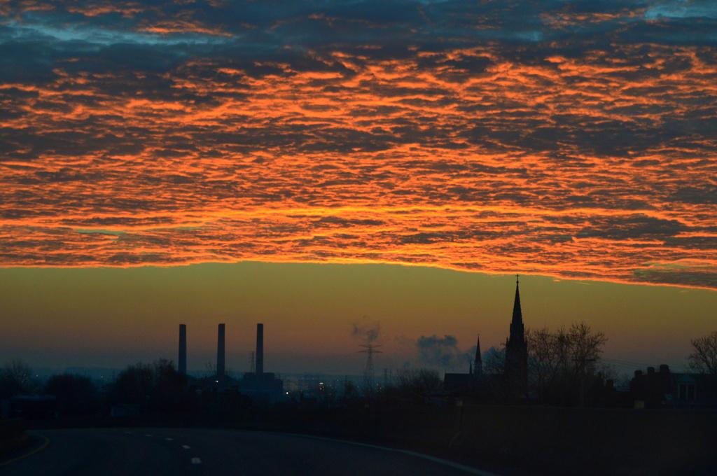 St. Louis Sunrise by kareenking