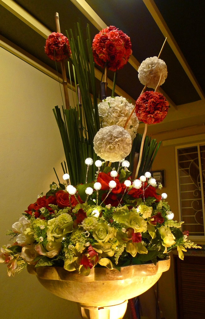 Artifical Flower Arrangement by ianjb21