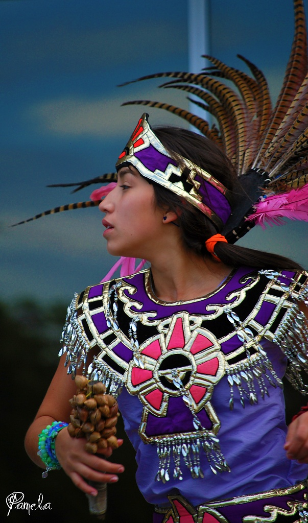 aztec dancer.... by earthbeone