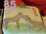 27th Jan 2014 - Gwen's birthday cake