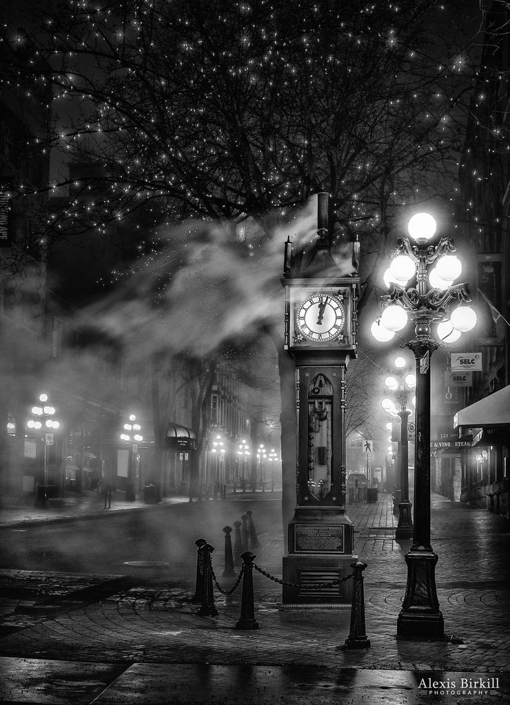 Gastown Steam Clock by abirkill