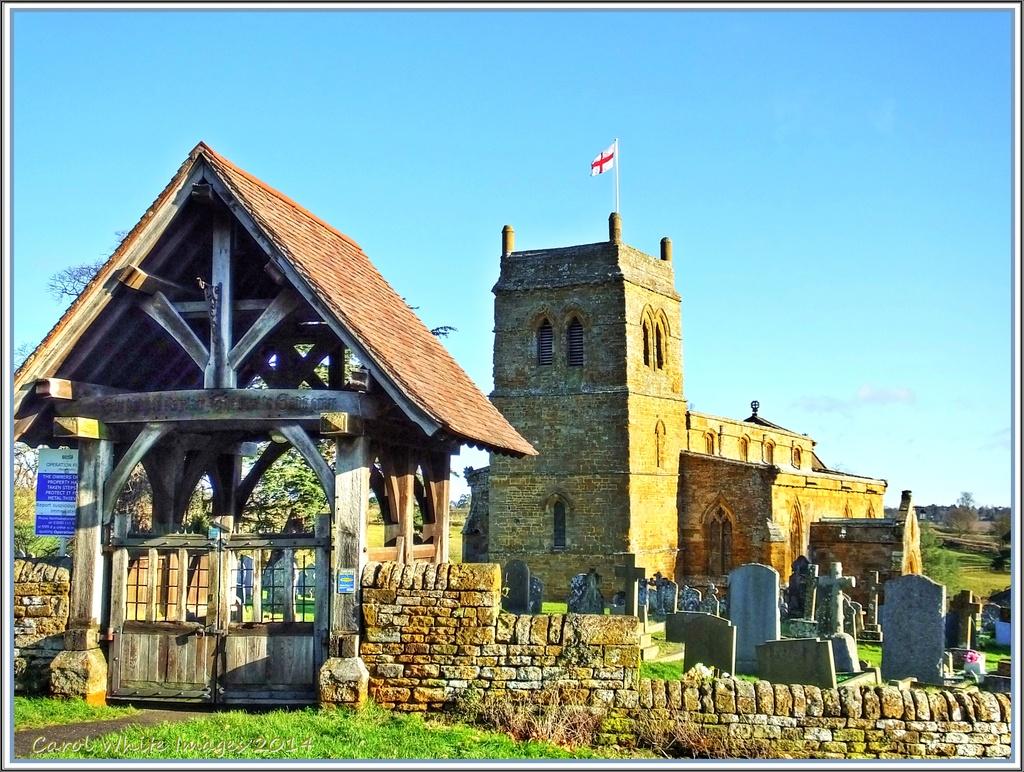 St.Andrew's Church,Upper Harlestone,Northampton by carolmw