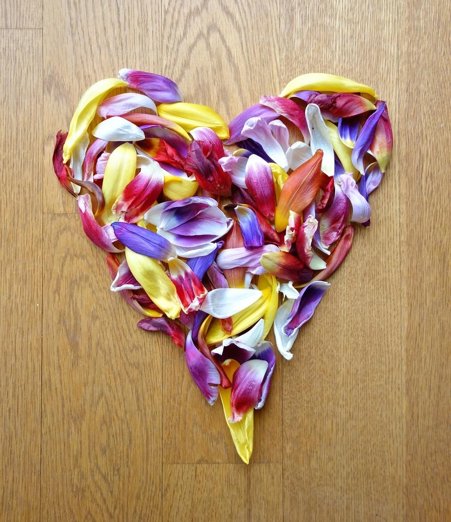 Flowery heart by cocobella