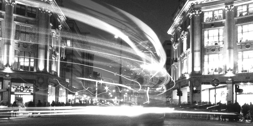 light trails by shannejw