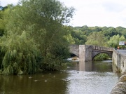 22nd Sep 2010 -   Ludford bridge .