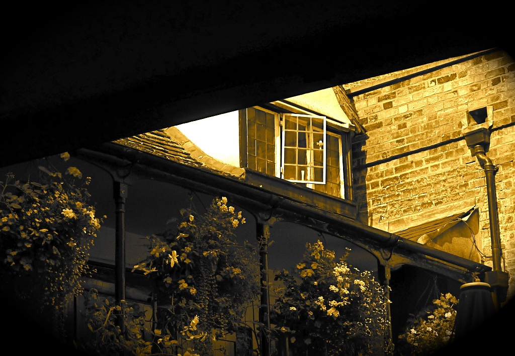 Ghostly Window by helenmoss