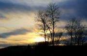 4th Feb 2014 - Watercolor sunset