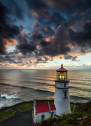 5th Feb 2014 - Vertical Lighthouse At Sunset