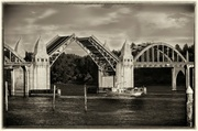 8th Feb 2014 - Bridge Is Up In Black and White