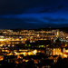 Trondheim by night by elisasaeter