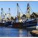 Fishing boats, Shoreham Harbour by ivan