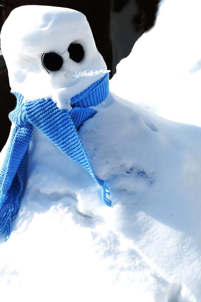 Snowman! by fayefaye