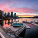 Coal Harbour Sunset by abirkill