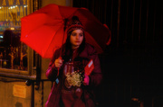 19th Feb 2014 - Girl with a Red Umbrella