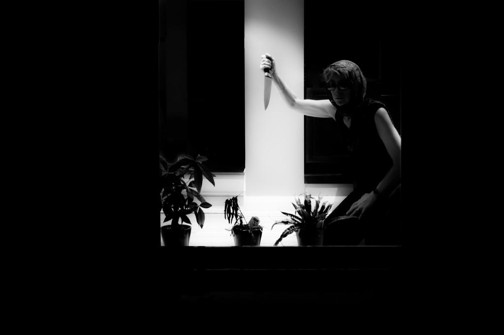 film noir - through the back window by northy