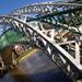 Victorian footbridge by pistonbroke
