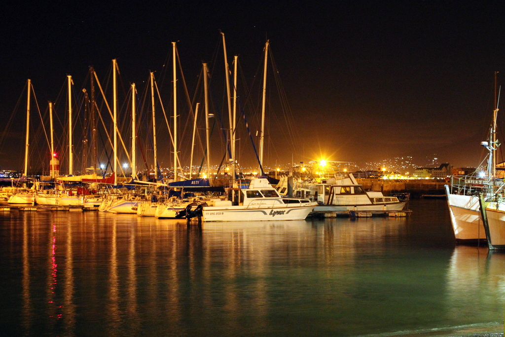 2014 03 01 Harbour at Night by kwiksilver