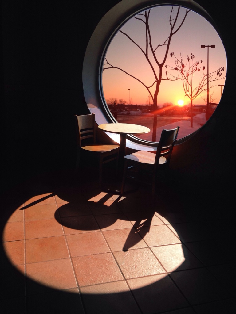 Circular Sunset by cailts