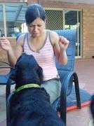 25th Aug 2009 - Rachel Loves Dog Slobber