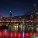 My Brisbane 5 - The Bridge lights up for Daniel by terryliv