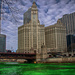 St Patrick's Day in Chicago: Dyeing the River Green by taffy