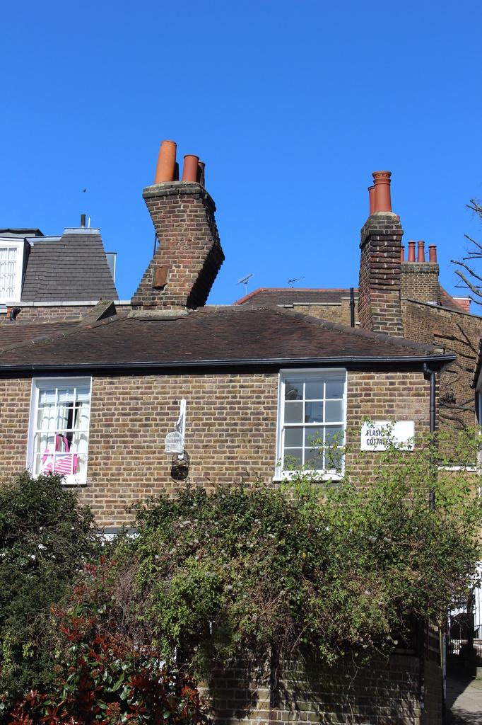 wonky chimney by mariadarby