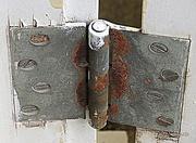 17th Mar 2014 - Old door hinge
