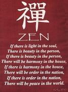 1st Oct 2010 -  Zen