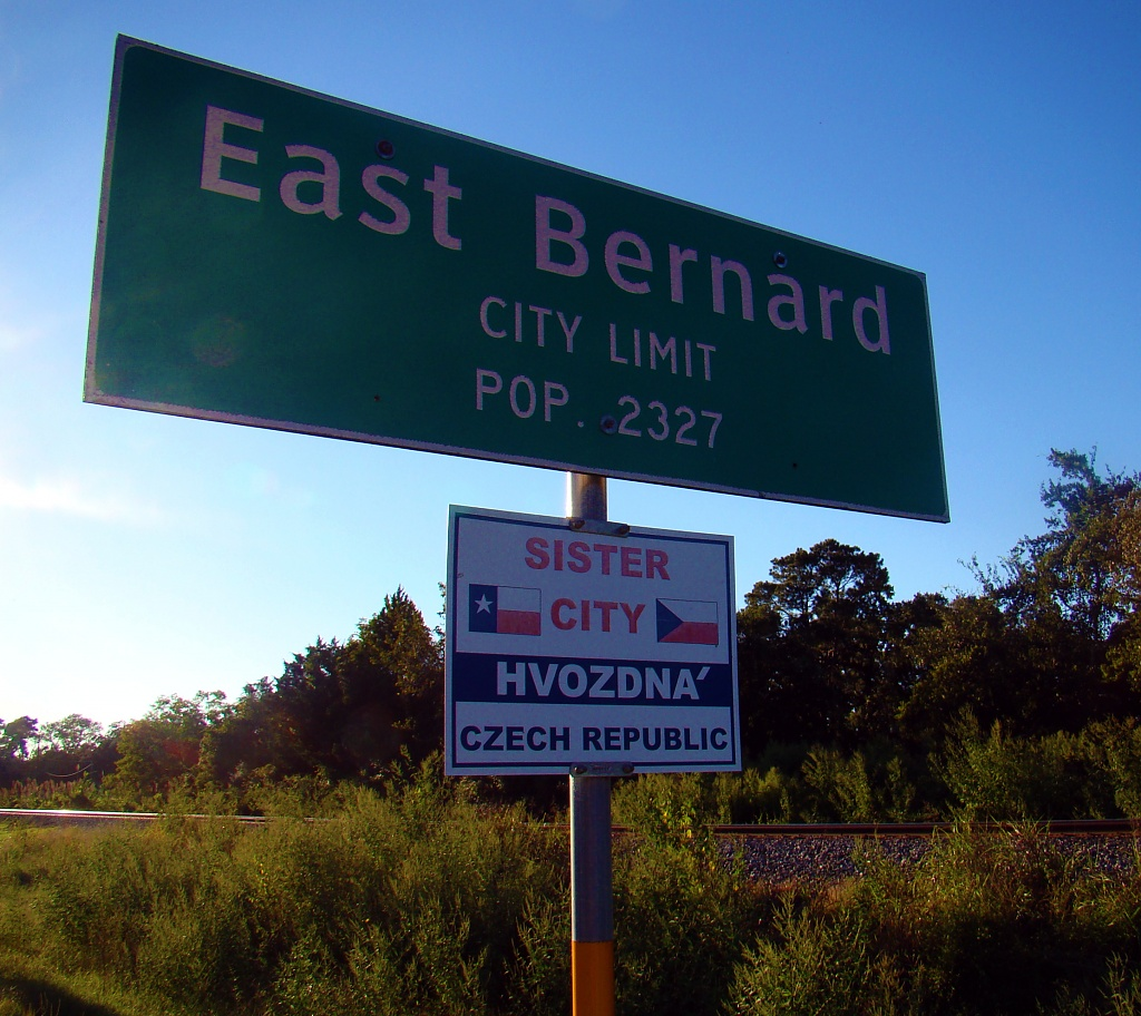 E is for East Bernard by dmrams