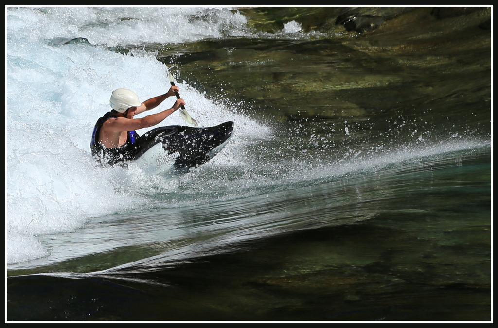 Freestyle kayak  by dide