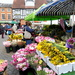 Flower stall at Leominster market... by snowy