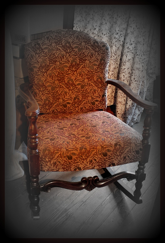 Pappy's Rocking Chair by digitalrn