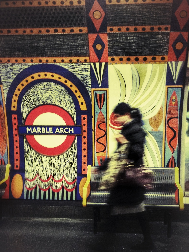 Marble Arch, Central Line Platform by rich57