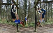31st Mar 2014 - Gymnastic in the woods