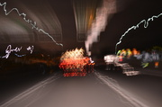 5th Apr 2014 - Abstract motion blur light trails