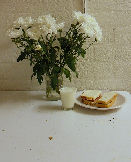 A students house still life by berend