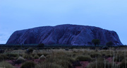 8th Apr 2014 - Uluru was feeling blue this morning