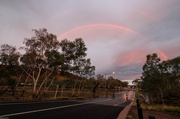 9th Apr 2014 - Rainbow of renewal over the flood