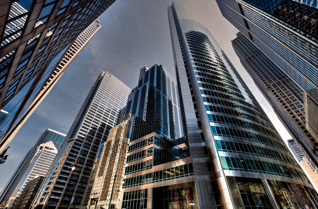 Chicago Skyscrapers by taffy