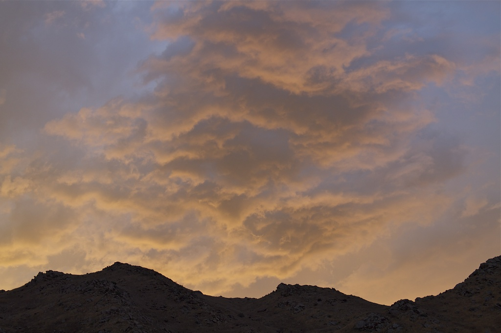 Sunset Before the Storm by robv