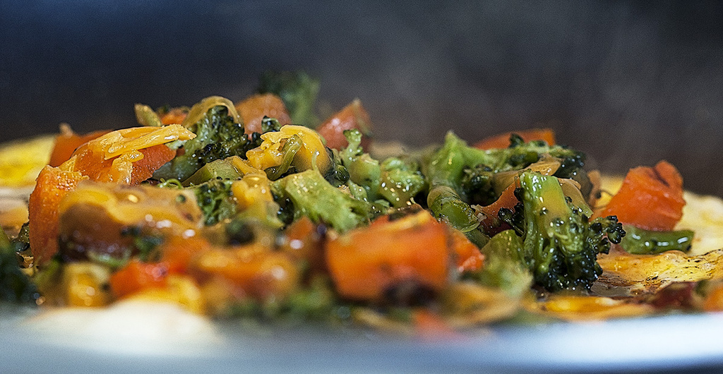 Veggie Omlet with Cheese by gardencat
