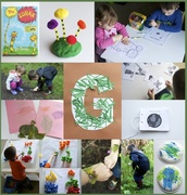 "24th Apr 2014 - ""G"" is for ""Green"""