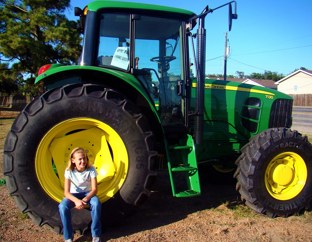 J is for John Deere Tractor by dmrams