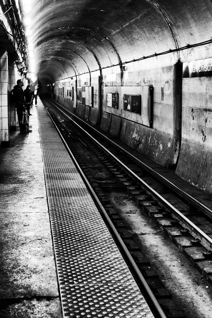 Looking Down the Tracks by taffy