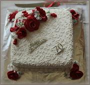 3rd May 2014 - Anniversary cake