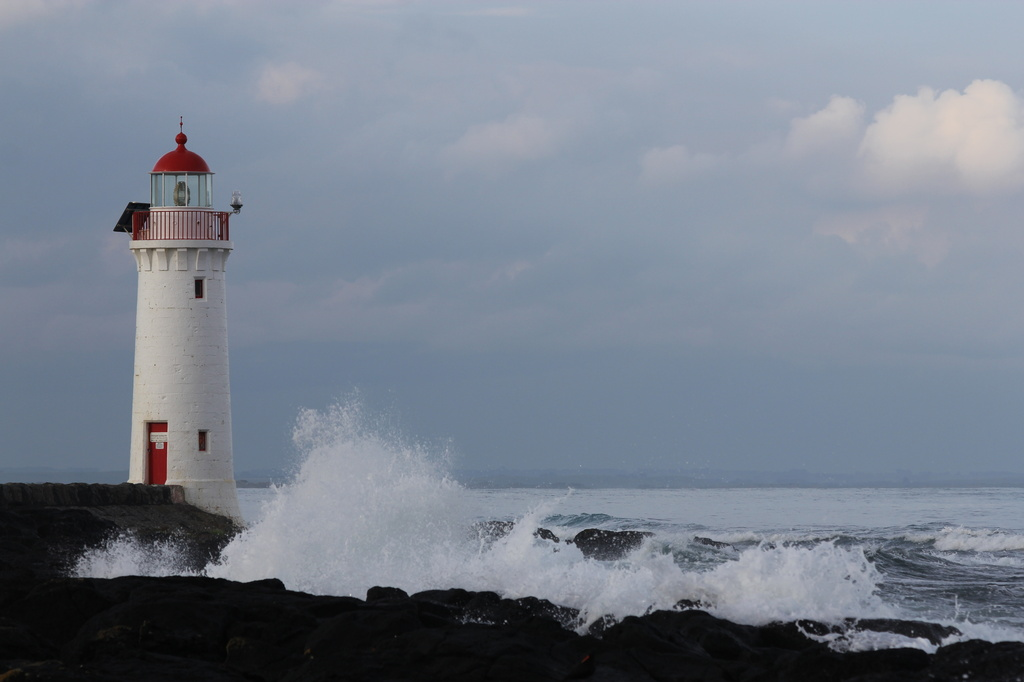 Stormy lighthouse by gilbertwood