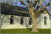 4th May 2014 - Shadows on the church