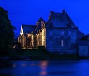 5th May 2014 - L'Abbaye de Paimpont et Mairie...