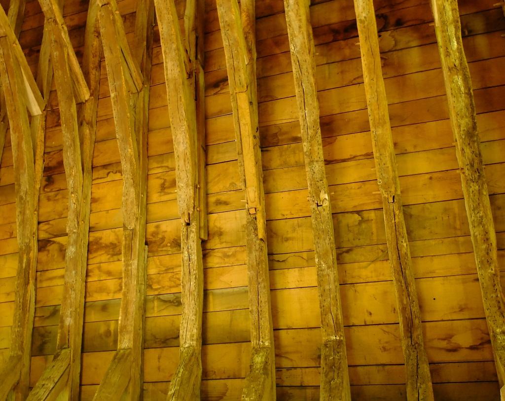 Roof rafters......  by quietpurplehaze